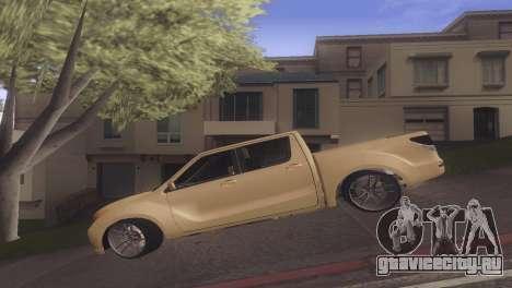 Mazda BT-50 Pro для GTA San Andreas вид слева