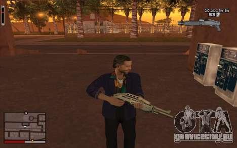 C-HUD GTA 5 для GTA San Andreas второй скриншот