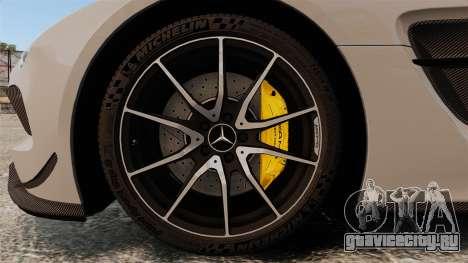 Mercedes-Benz SLS 2014 AMG NFS Stripes для GTA 4 вид сзади