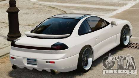 Dodge Stealth Turbo RT 1996 для GTA 4 вид справа