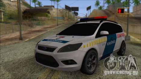 Ford Focus 2008 Station Wagon Hungary Police для GTA San Andreas