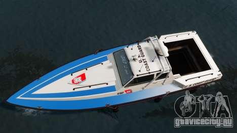 Predator U.S. Coast Guard для GTA 4 вид справа