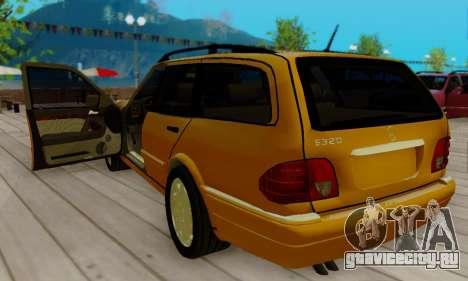 Mercedes-Benz E320 Wagon для GTA San Andreas вид справа