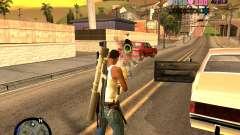C-HUD Vice Sity для GTA San Andreas
