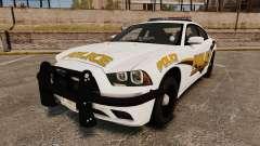 Dodge Charger 2013 Liberty University Police ELS для GTA 4