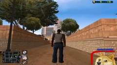C-HUD Собака WOW для GTA San Andreas