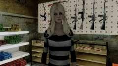 Young Blonde для GTA San Andreas