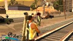 C-HUD Gor Life Ghetto для GTA San Andreas