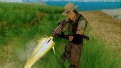 Resident Evil Apocalypse S.T.A.R.S. Sniper Skin для GTA San Andreas