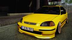 Honda Civic Edit Mehmet ALAN для GTA San Andreas