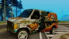 Ford E-150 GT-Shop для GTA San Andreas