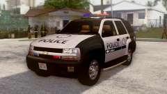 Chevrolet TrailBlazer Police для GTA San Andreas