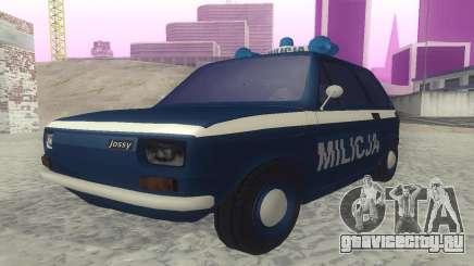 Fiat 126p milicja для GTA San Andreas
