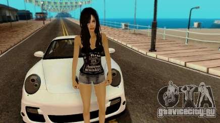 Jack Daniels Girl Skin для GTA San Andreas