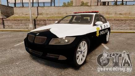 BMW 350i Japanese Police [ELS] для GTA 4