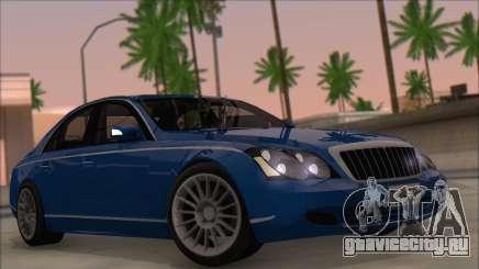 Maybach 57 TT Black Revel седан для GTA San Andreas