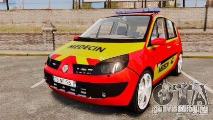 Renault Scenic Medicin v2.0 [ELS] для GTA 4