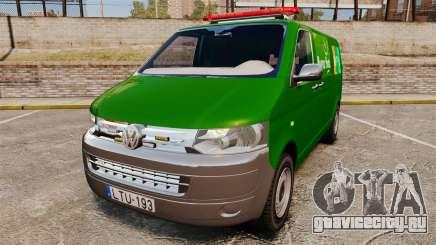Volkswagen Transporter T5 Hungarian Post [ELS] для GTA 4
