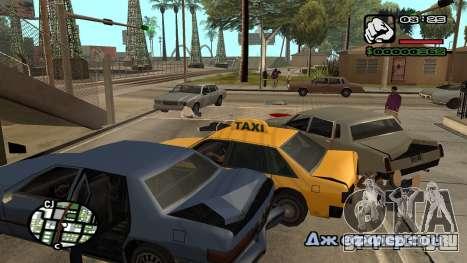 Новый шрифт V.3 для GTA San Andreas для GTA San Andreas девятый скриншот