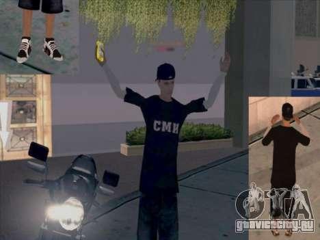 Скин работника СМИ для GTA San Andreas четвёртый скриншот
