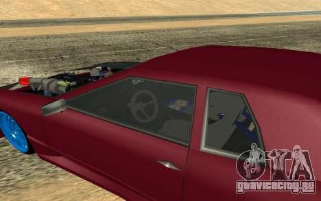 Elegy Drift для GTA San Andreas вид слева