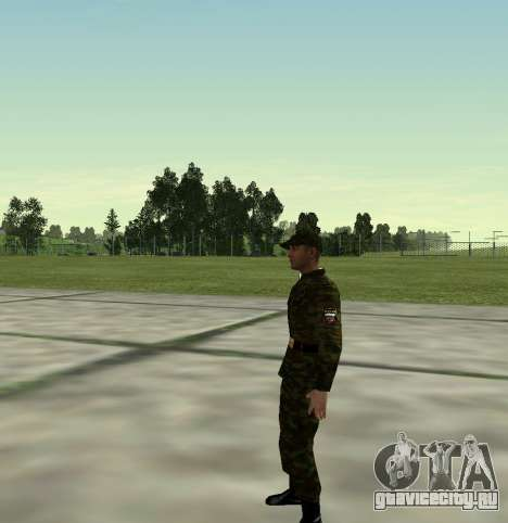 Боец Российской Армии v 2.0 для GTA San Andreas второй скриншот