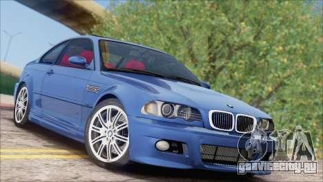 BMW M3 E46 2002 для GTA San Andreas