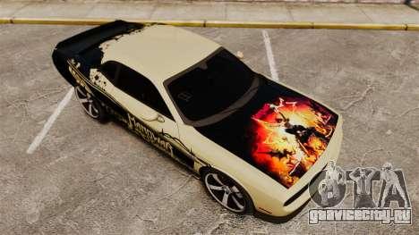 Dodge Challenger SRT8 2012 для GTA 4 двигатель