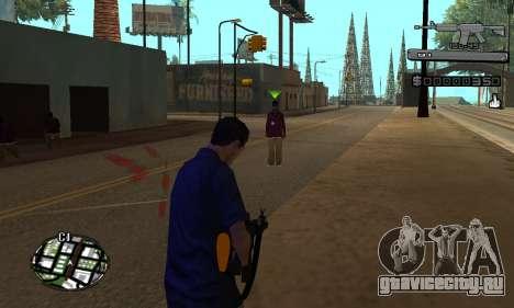 C-HUD Smoke для GTA San Andreas второй скриншот