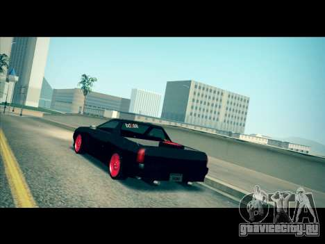 Elegy P1kachuxa Private для GTA San Andreas вид сзади слева