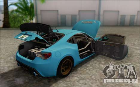 Scion FR-S 2013 Beam для GTA San Andreas двигатель