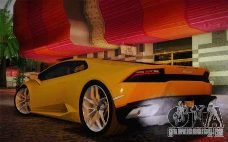 Lamborghini Huracan 2013 для GTA San Andreas вид справа
