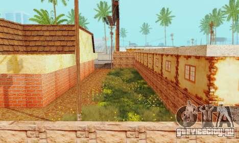 Новая текстура пиццерии и отеля в Иделвуде для GTA San Andreas одинадцатый скриншот