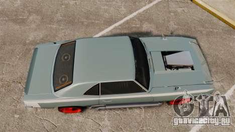Declasse Vigero Supercharger v2.0 для GTA 4 вид справа