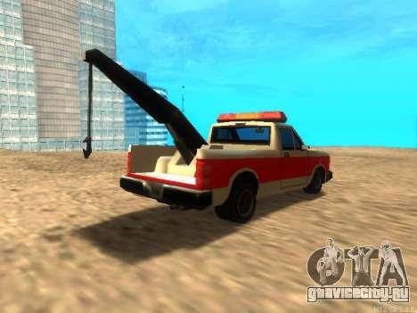 Новый Эвакуатор (Bobcat) для GTA San Andreas вид справа