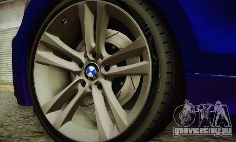 BMW 120i SE Carabinieri для GTA San Andreas вид справа