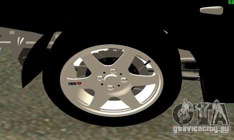 VAZ-21123 TURBO-Кобра для GTA San Andreas вид сзади