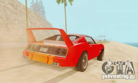 Imponte Phoenix из GTA 5 для GTA San Andreas вид слева