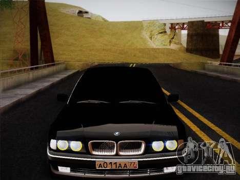 BMW 730d E38 1999 для GTA San Andreas вид справа