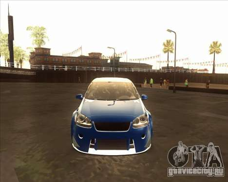 Volkswagen Golf из NFS Most Wanted для GTA San Andreas вид слева