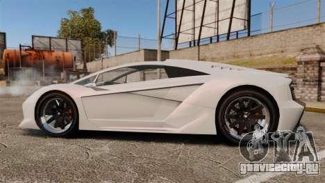 GTA V Pegassi Zentorno для GTA 4 вид слева