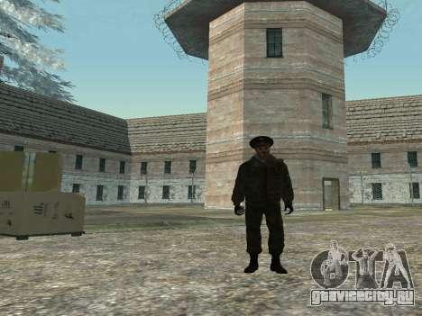 Подполковник Внутренних войск для GTA San Andreas второй скриншот
