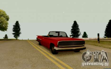 Voodoo Кабриолет (версия без фар) для GTA San Andreas