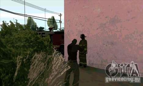 Реалистичная пожарная станция в Лас Вентурасе для GTA San Andreas четвёртый скриншот