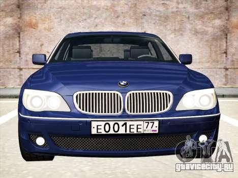 BMW 760Li для GTA San Andreas вид слева