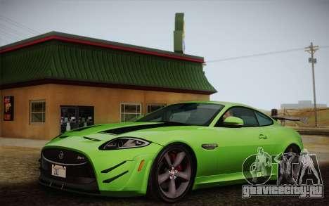 Jaguar XKR-S GT 2013 для GTA San Andreas