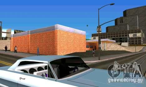 Новый гараж в San Fierro для GTA San Andreas пятый скриншот