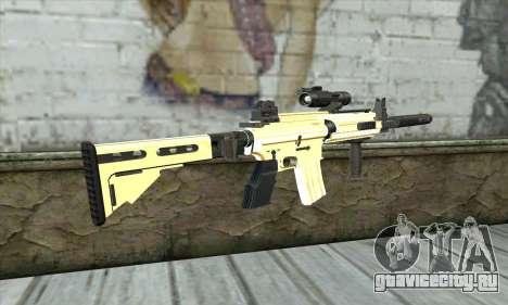 Golden M4A1 для GTA San Andreas второй скриншот