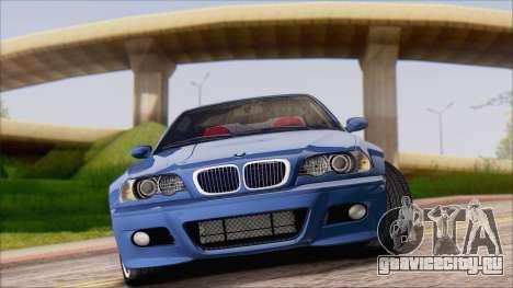 BMW M3 E46 2002 для GTA San Andreas вид слева