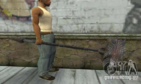 Топор из Skyrim для GTA San Andreas третий скриншот